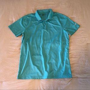 Men's Nike Dri-fit golf shirt
